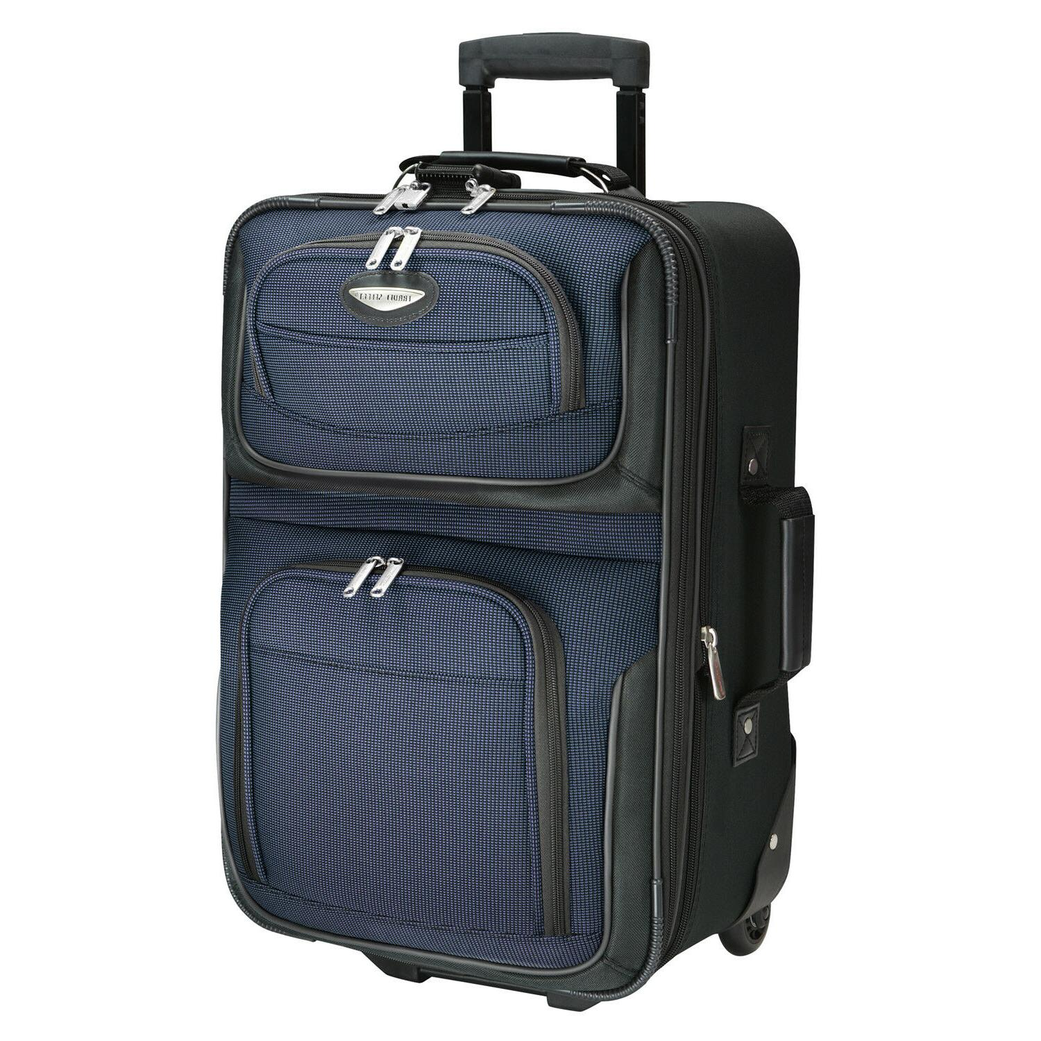 Traveler's Choice Amsterdam Carry-on Suitcase