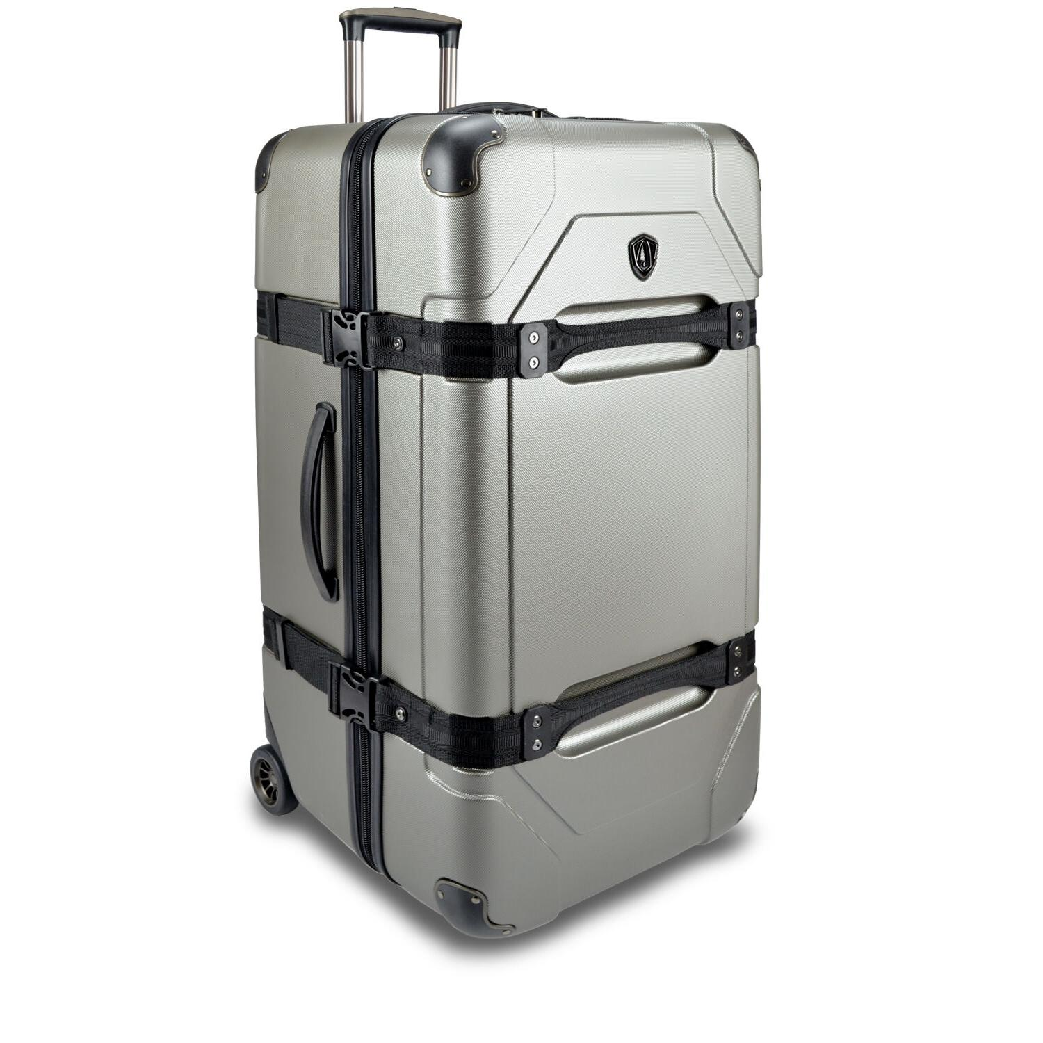 "Traveler's Choice Maxporter 28"" Rolling Trunk Suitcase Bag"