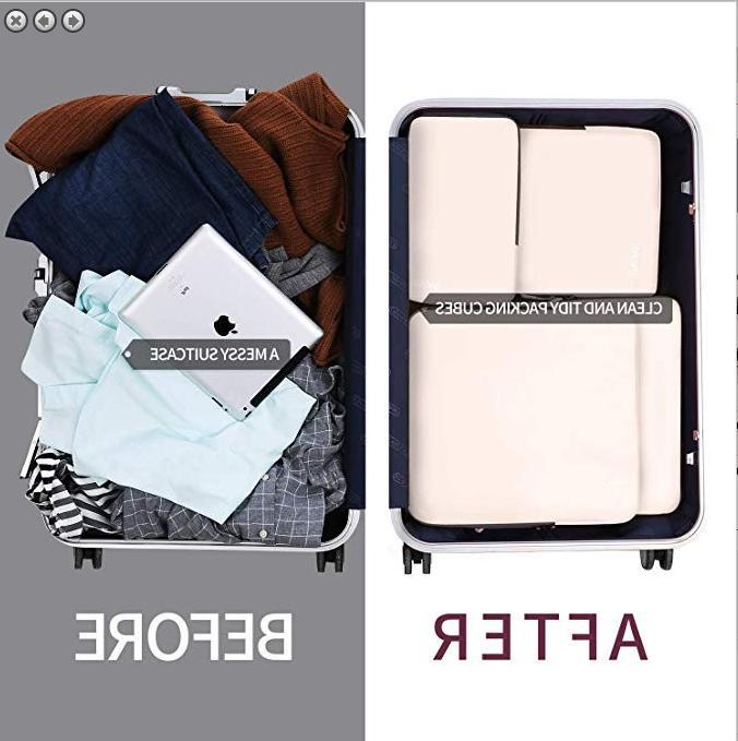 BAGAIL Ultralight Cubes Travel Packing Organizers