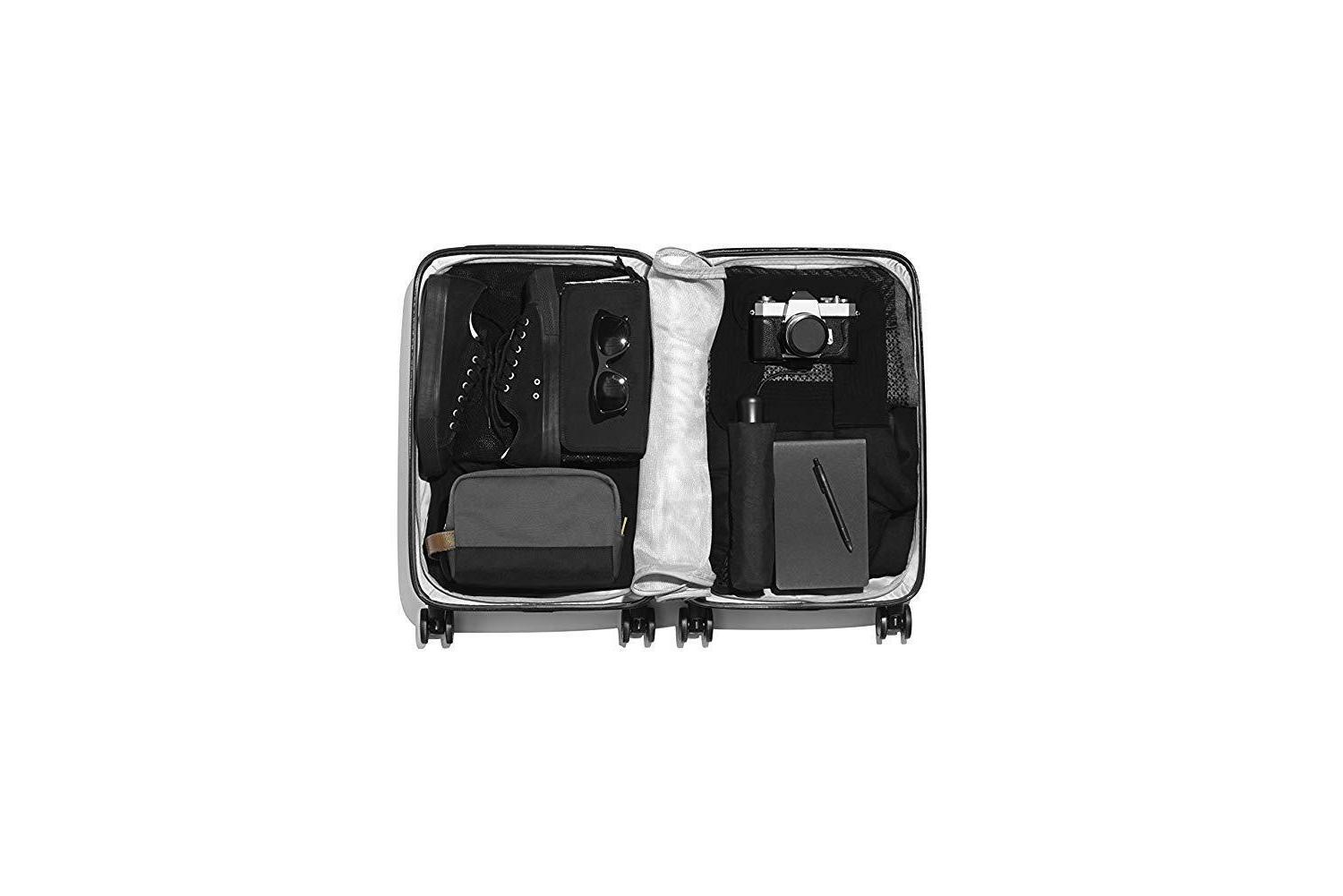 RADEN USB SMART LUGGAGE HARDSIDE CARRY Spinner INCH GLOSS