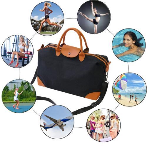 Women PU Overnight Bags on Luggage