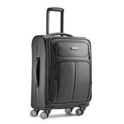 leverage luggage expandable softside carry on