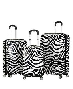 Rockland 3-Piece Lightweight Hardside Spinner Luggage Set -