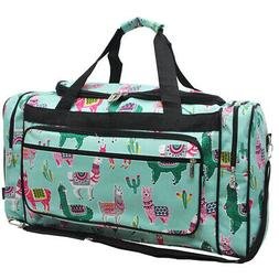 "Llama NGIL® Canvas 23"" Carry on Shoulder Duffle Bag"