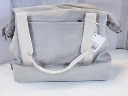 Lo & Sons Catalina Deluxe Large DOVE GRAY CANVAS DUFFEL TRAV