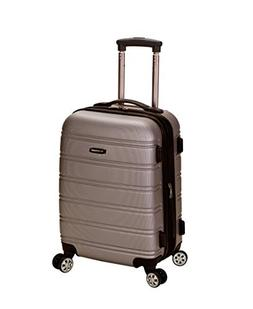 Rockland Luggage Melbourne 20 Inch Expandable Abs Carry On L