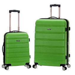 2 Piece Luggage Set, Green