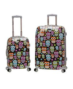 Rockland 2 PC LUGGAGE SET - F212-OWL