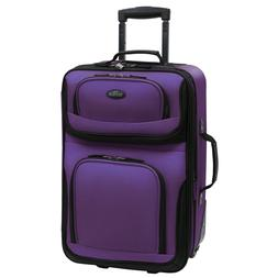 Luggage Sets For Women Men 2 Piece Travel Carry On Bag Clear