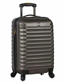 luggage Suitcase ABS Mid Size Hard Case 24 inch Rolling With