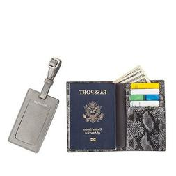 Destinations Luggage Tag and RFID Passport Cover 2 piece Set