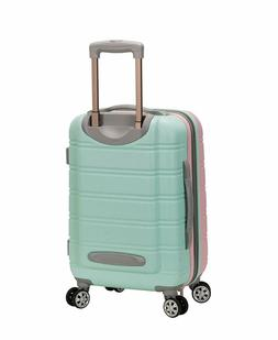 Rockland Melbourne 20 Inch Expandable ABS Carry On Luggage M