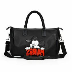 Mickey Mouse Women Travel Weekend Duffel Luggage Overnight B