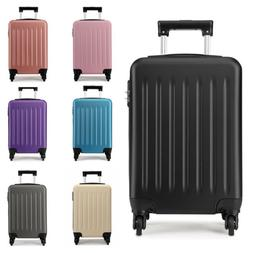 Mini 19 inch Wheeled Case Bag Hand Cabin Spinner Trolley Lug