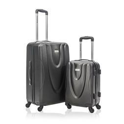 New Jetstream 2 Piece Hardside Carry-On Spinner Luggage Set