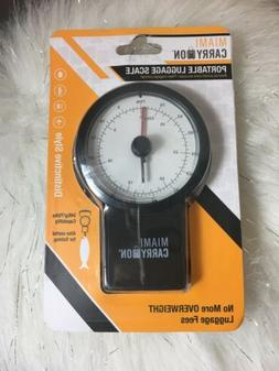 NEW Miami Carry On Mechanical Luggage Scale & Measure Tape 7