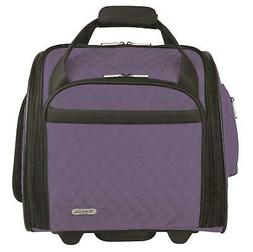 New Travelon Wheeled Underseat Carry-On with Back Up Bag