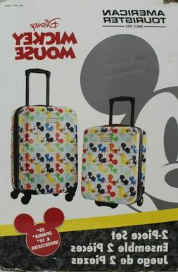 NIOB American Tourister Disney 2-Pc Hardside Carry-On Luggag