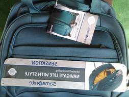 NWT Samsonite Sensation Wheeled Boarding Bag Luggage Carry O