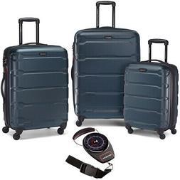 Samsonite Omni Hardside Luggage Nested Spinner Set 3 Pcs Tea