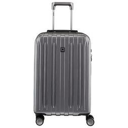 DELSEY Paris Titanium Carry On Spinner Rolling Luggage Suitc