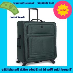 Pivot Spinner Luggage Carry On Soft Side Travel 1 Piece Bag