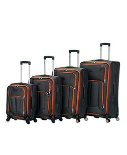 Rockland Impact Collection Spinner 4-Piece Spinner Luggage S