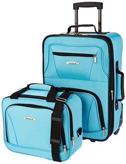 Rockland Rio Upright Carry-On & Tote 2-Piece Luggage Set - T