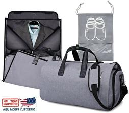 Roll Up Suit Garment Duffel Bag For Travel Carry On Suit Bag