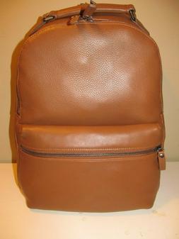 Shinola Signature Detroit British Saddle Soft Leather Laptop
