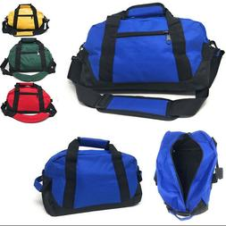 "Sports 14"" Duffle Duffel Bags School Travel Gym Locker Carry"