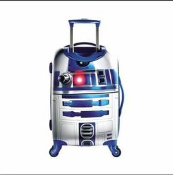 STAR WARS R2D2 Hardsided SPINNER SUITCASE Carry On Upright L
