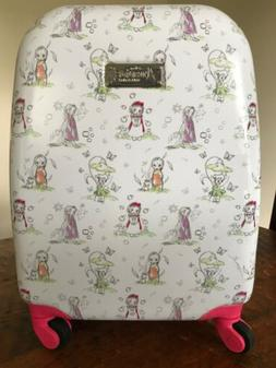 """DISNEY Store ANIMATORS COLLECTION 2016 Luggage 16"""" Rolling S"""