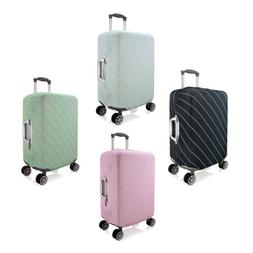 Striped Elastic Luggage Cover Suitcase Protector Scratch Cas