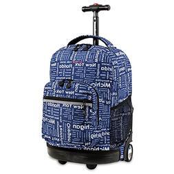 J World® Sunrise Road Trip Rolling Backpack