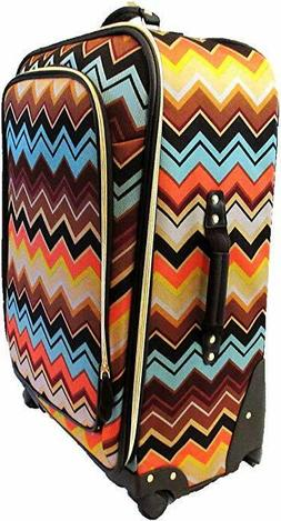 "Missoni For Target - 28"" Suitcase with Accessories - Zig Zag"