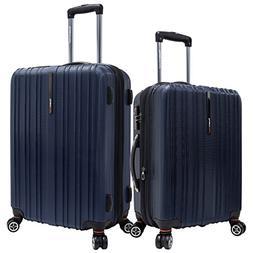 Traveler's Choice Unisex Tasmania 2 Piece Spinner Luggage Na