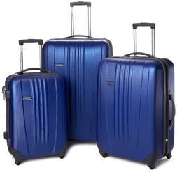 Traveler's Choice Toronto 3-Piece Hardside Spinner Luggage S
