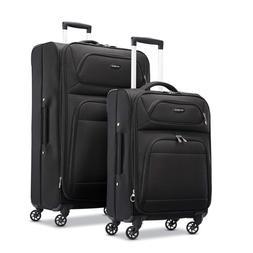 Samsonite Transyt Expandable Softside Luggage Set with Spinn