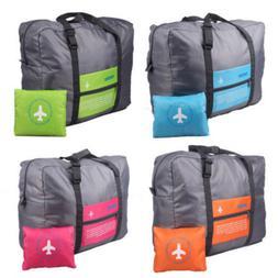 Travel Big Size Foldable Luggage Clothes Storage Carry-On Du