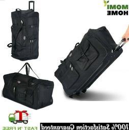 Travel Duffle Bag Women with Wheels Sports Rolling Duffle Lu