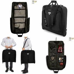 Travel Garment Bag with Shoulder Strap Business Trips Suit C