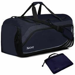 Bagail Travel Luggage Duffel Bag Lightweight for Sports, Gym