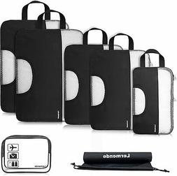 Travel Packing Cube Expandable Carry On Luggage Compression