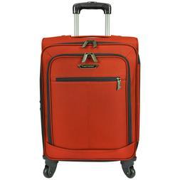"Traveler's Choice Orange 22"" Carry-on Light Expandable Spinn"