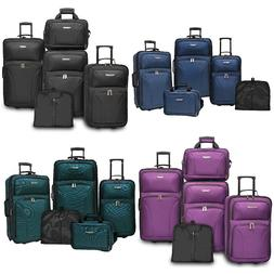 Traveler's Choice Ultimate 5pc Expandable Wheeled Luggage Su