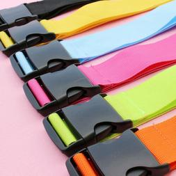 Travelling Colorful Adjustable Luggage Baggage Straps Tie Do