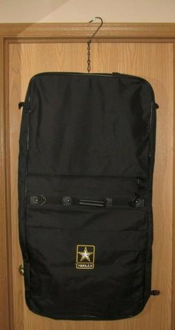 U.S. ARMY Black ASU Garment Carry-On Luggage Bag