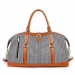 Weekender Bag Oxford Overnight Bag Travel Duffle Bag for Wom