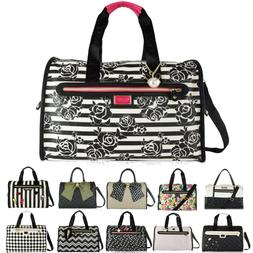 Betsey Johnson Weekender Overnight Duffel Luggage Duffle Car
